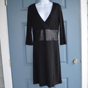 Black Long Sleeve Dress by BCBGMaxAzaria Sz. M